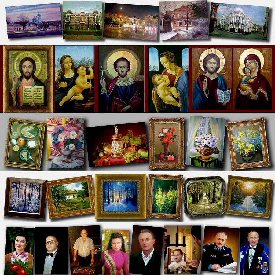 Эксклюзивный подарок это портрет или картина написанная художником. Заказать картину или портрет онлайн