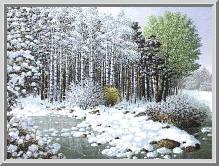 Пейзаж зимний.