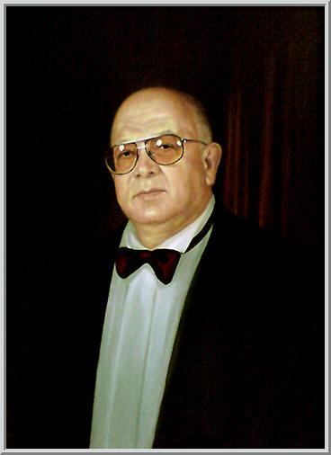 Картина из серии - портрет. Ректор филиала Киево-Могилянской Академии профессор Вьюн Валентин Юрьевич Работа выполнена на холсте маслянными красками