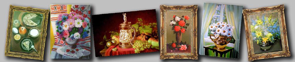Натюрморт маслом весенний ромашки у окна